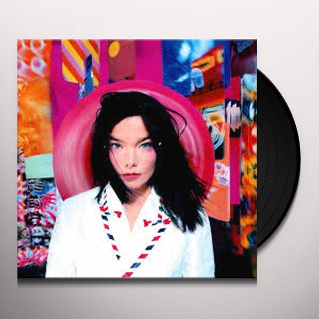 Bjork POST Vinyl Record - Limited Edition, Reissue