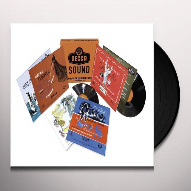 DECCA SOUND: THE MONO YEARS / VARIOUS (LTD) DECCA SOUND: THE MONO YEARS / VARIOUS Vinyl Record - Limited Edition, 180 Gram Pressing