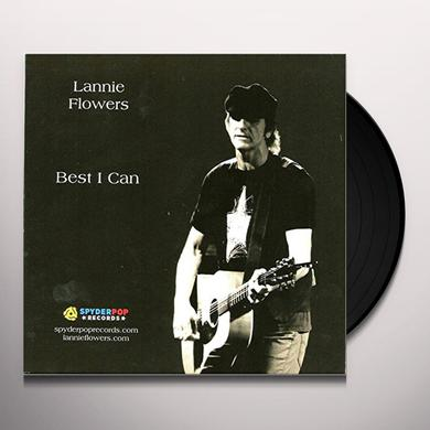 Lannie Flowers BEST I CAN Vinyl Record