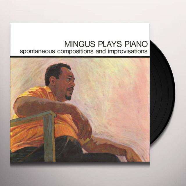 Charles Mingus MINGUS PLAYS PIANO Vinyl Record