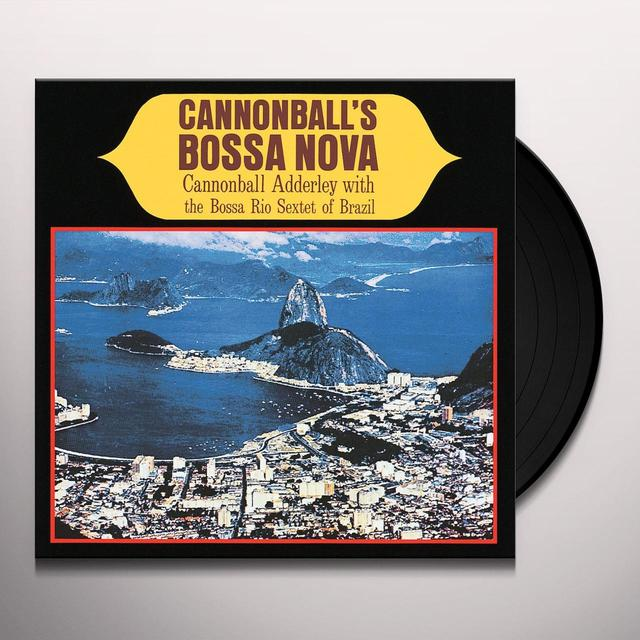 Cannonball Adderley CANNONBALL'S BOSSA NOVA Vinyl Record - Limited Edition, 180 Gram Pressing