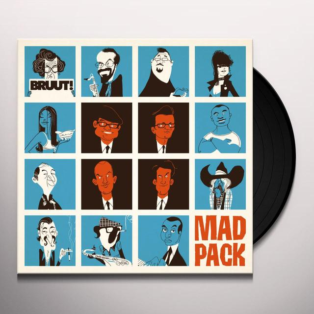 BRUUT MAD PACK Vinyl Record - Holland Import