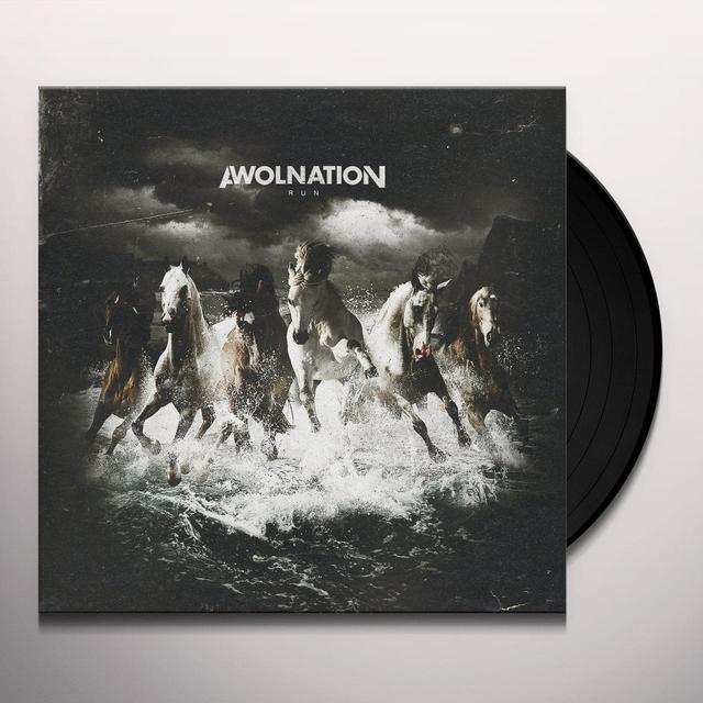 Awolnation RUN Vinyl Record - UK Import