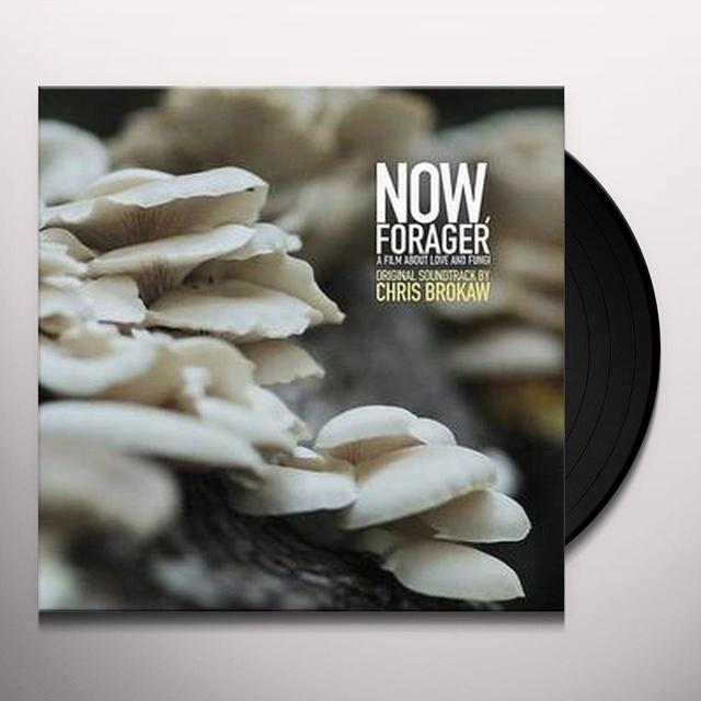 NOW FORAGER / O.S.T. (UK) NOW FORAGER / O.S.T. Vinyl Record - UK Import