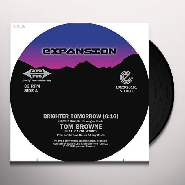 Tom Browne BRIGHTER TOMORROW Vinyl Record - 10 Inch Single, UK Import