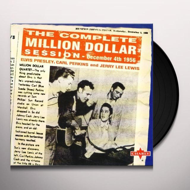 MILLION DOLLAR QUARTET Vinyl Record - Italy Import