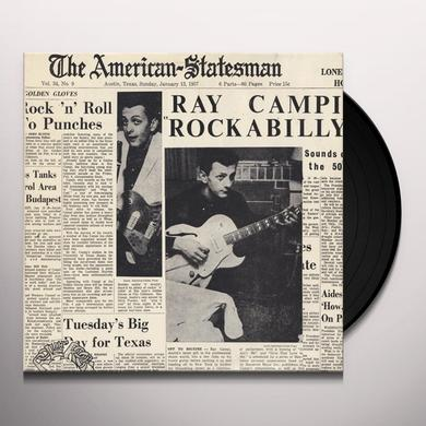 Ray Campi ROCKABILLY Vinyl Record
