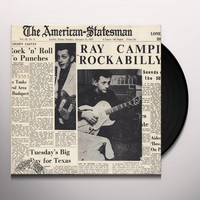 Ray Campi ROCKABILLY Vinyl Record - Italy Import