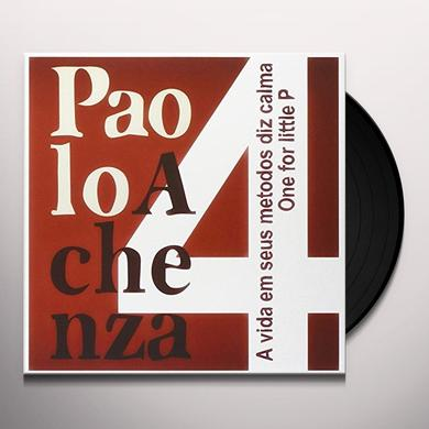 PAOLO ACHENZA 4 VIDA EM SEUS METODOS DIZ CALMA Vinyl Record - Italy Import