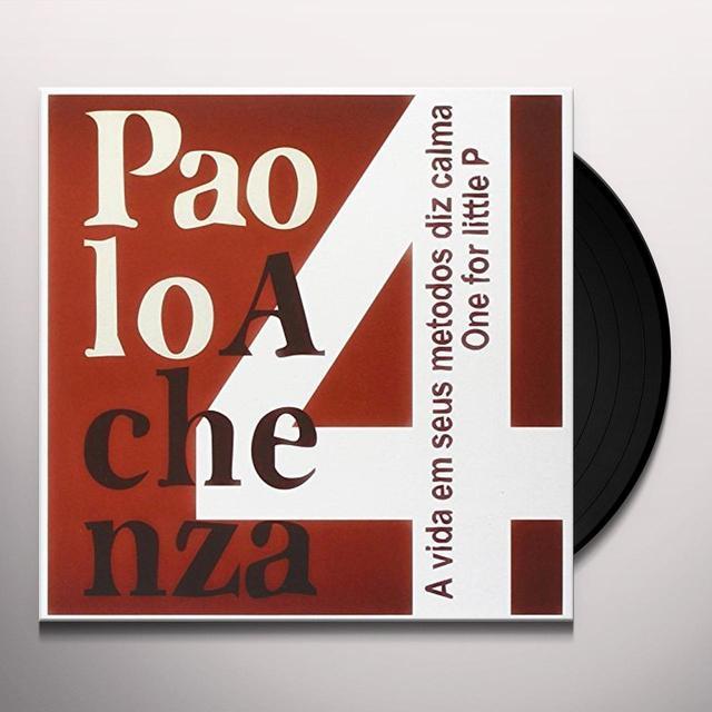 PAOLO ACHENZA 4 VIDA EM SEUS METODOS DIZ CALMA Vinyl Record