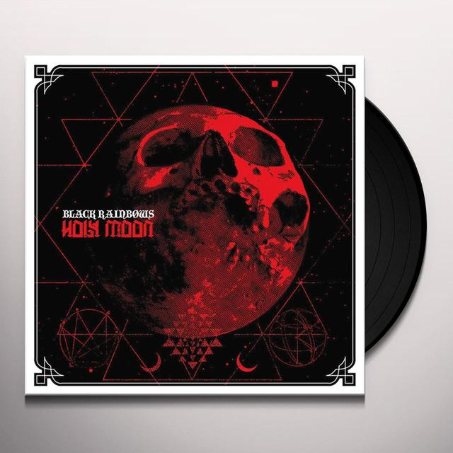 BLACK RAINBOWS HOLY MOON Vinyl Record - Italy Release