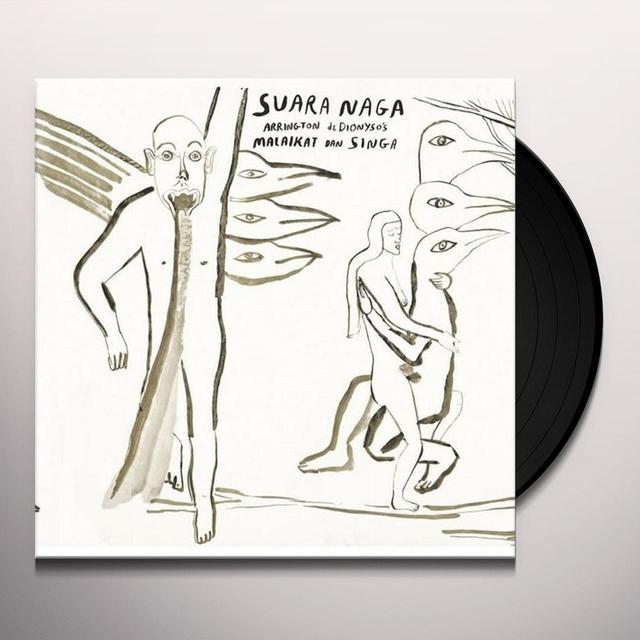 Arrington De Dyoniso SUARA NAGA Vinyl Record - Italy Import