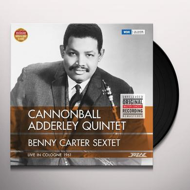 Cannonball Adderley LIVE IN COLOGNE 1961 + BENNY CARTER SEXTET Vinyl Record - Spain Release