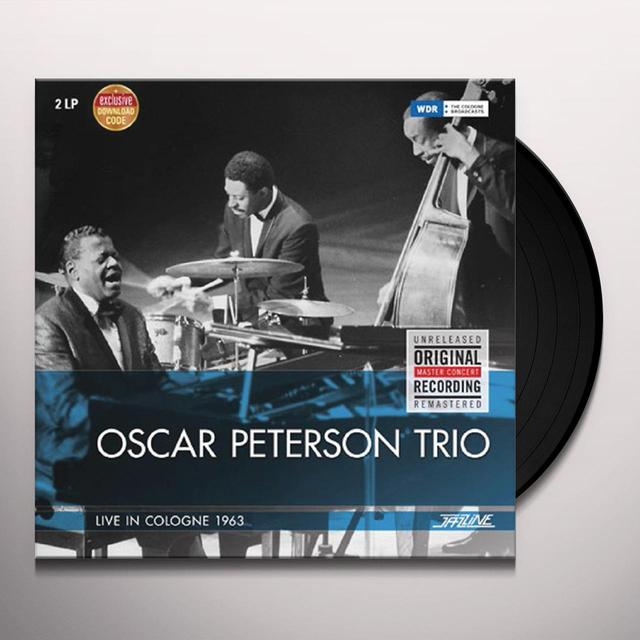 Oscar Peterson LIVE IN COLOGNE 1963 Vinyl Record - Spain Import
