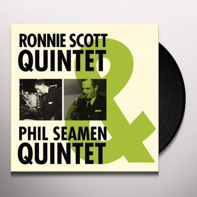 RONNIE SCOTT & PHIL SEAMEN QUINTET Vinyl Record - Spain Import