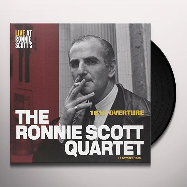 RONNIE SCOTT QUARTET: 1612 OVERTURE (EP) Vinyl Record - Spain Import