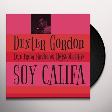 Dexter Gordon SOY CALIFA: LIVE FROM MAGLEAAS HOJSKOLE 1967 Vinyl Record - Spain Import