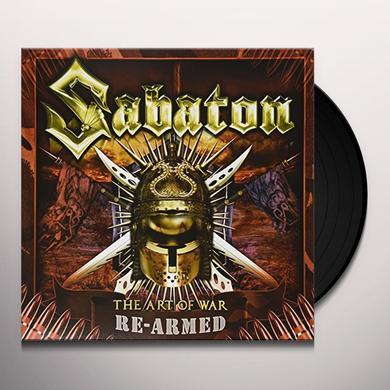 Sabaton ART OF WAR Vinyl Record - Holland Import