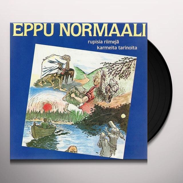 EPPU NORMAALI RUPISIA RIIMEJA KARMEITA TARINOITA Vinyl Record - Holland Import