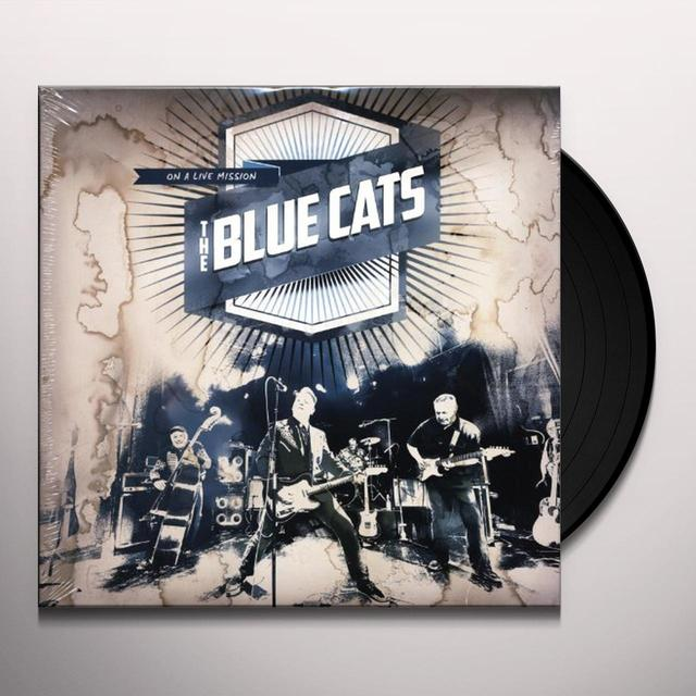 BLUE CATS ON A LIVE MISSION Vinyl Record - Holland Release