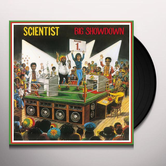 Scientist BIG SHOWDOWN Vinyl Record - Italy Import