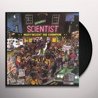 Scientist HEAVYWEIGHT DUB CHAMPION Vinyl Record - Italy Release