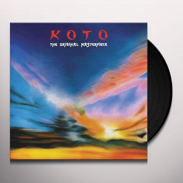 KOTO ORIGINAL MASTERPIECE Vinyl Record - Italy Import