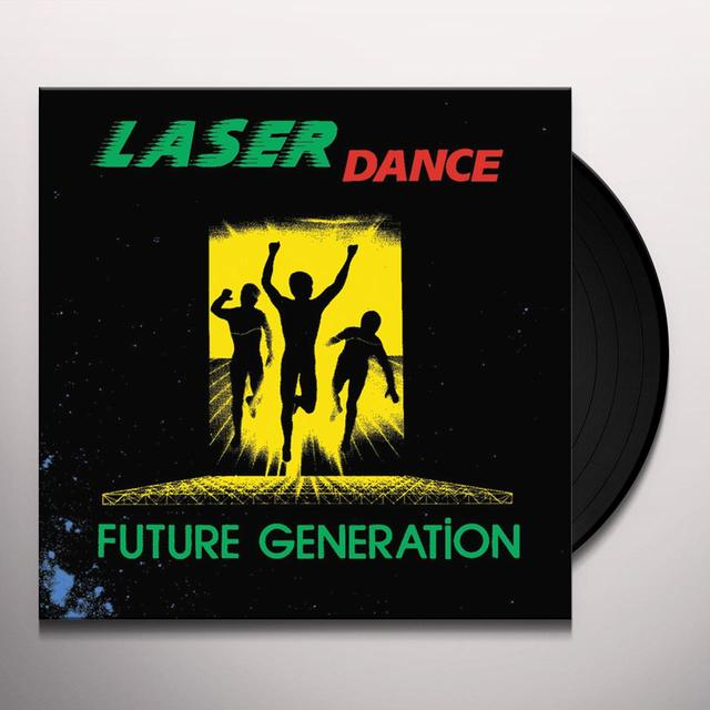 Laserdance FUTURE GENERATION Vinyl Record - Italy Release