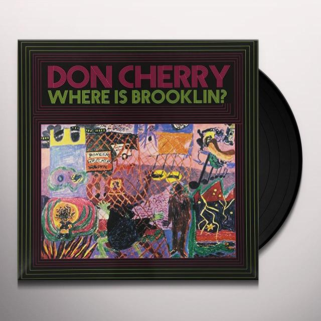 CHERRY DON WHERE IS BROOKLYN Vinyl Record - Italy Import
