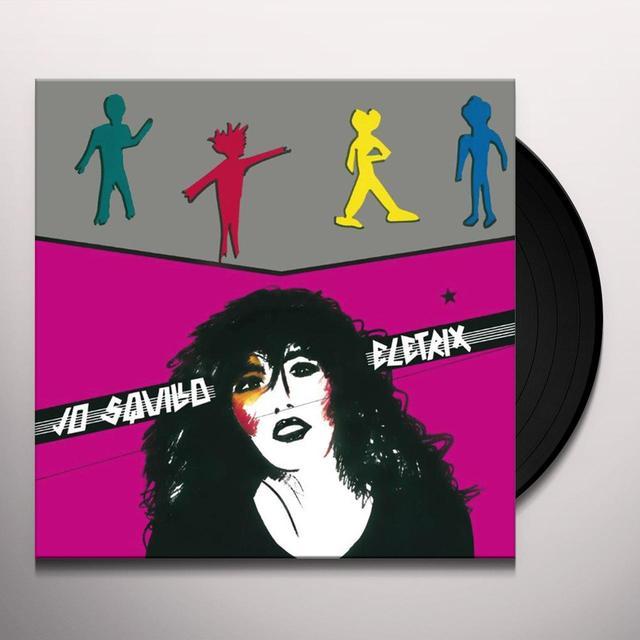 SQUILLO JO ELETRIX GIRL SENZA PAURA Vinyl Record - Italy Import