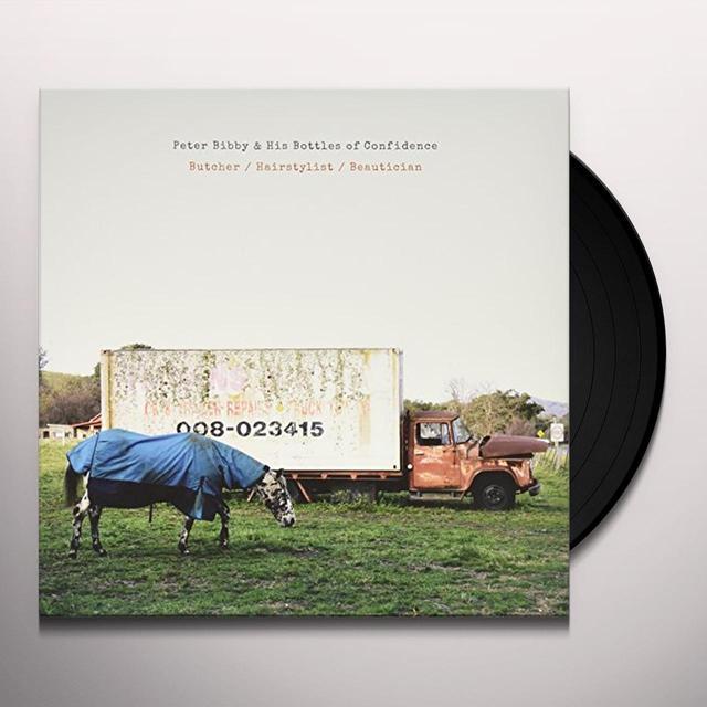 PETER BIBBY BUTCHER / HAIRSTYLIST / BEAUTICIAN Vinyl Record - Australia Import