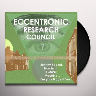 Eccentronic Research Council JOHNNY ROCKET NARCISSIST & MUSIC MACHINE Vinyl Record