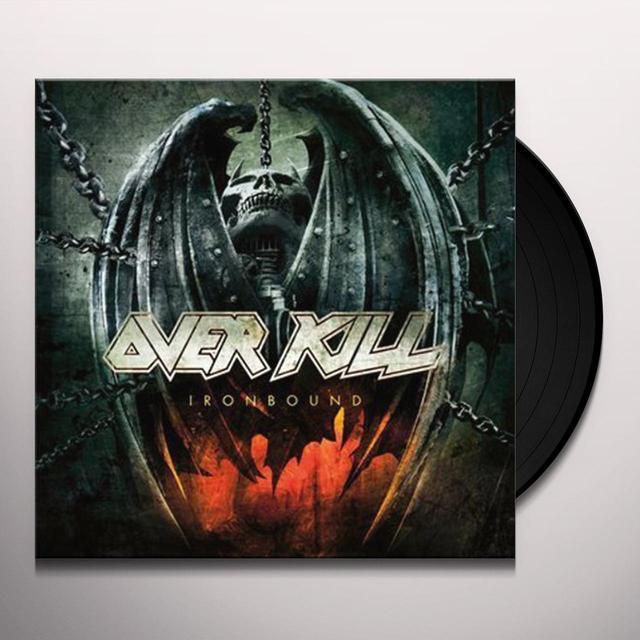 Overkill IRONBOUND Vinyl Record - Holland Import