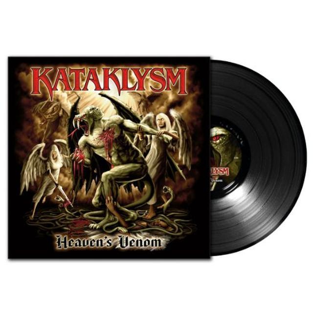 Kataklysm HEAVENS VENOM Vinyl Record - Holland Release