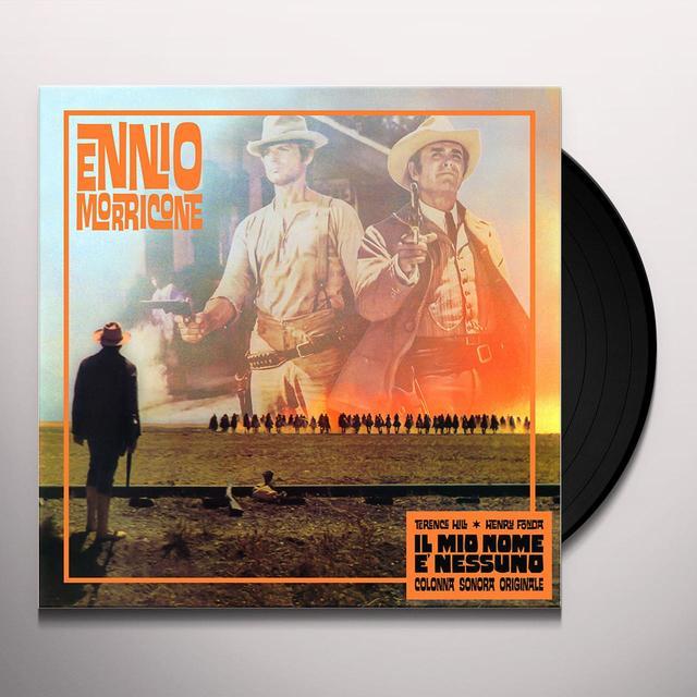 Ennio Morricone IL MIO NOME E' NESSUNO (SCORE) / O.S.T. Vinyl Record - Gatefold Sleeve