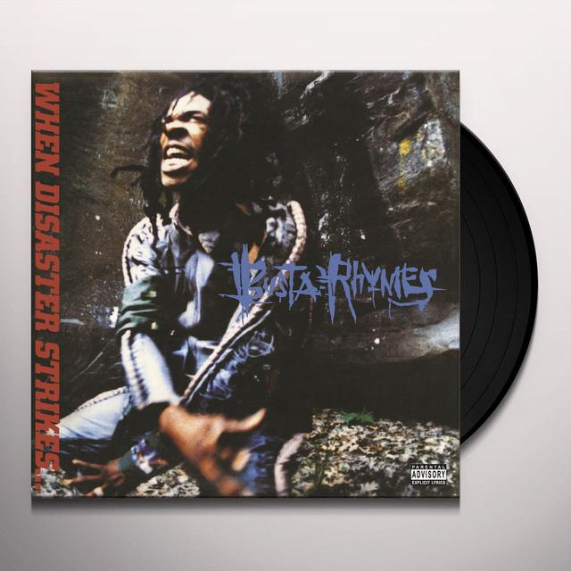 Busta Rhymes WHEN DISASTER STRIKES Vinyl Record