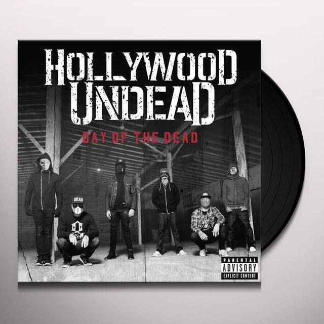 Hollywood Undead DAY OF THE DEAD Vinyl Record - Deluxe Edition