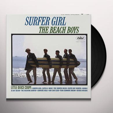 The Beach Boys SURFER GIRL Vinyl Record - 200 Gram Edition, Mono