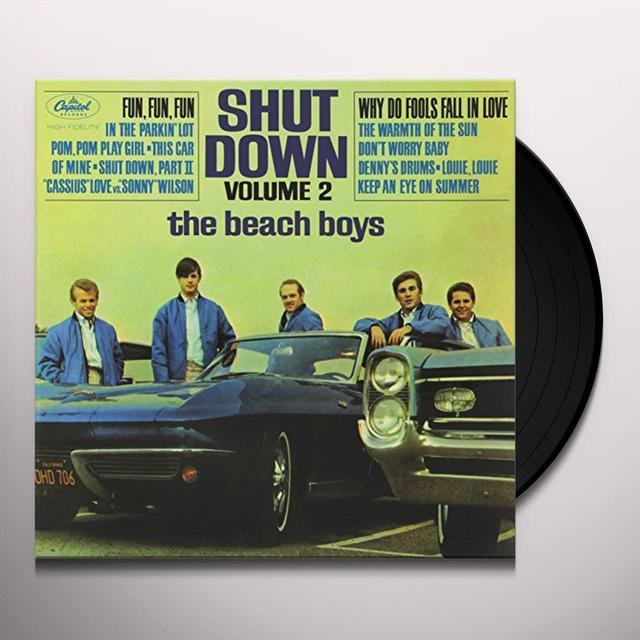 The Beach Boys SHUT DOWN 2 Vinyl Record - 200 Gram Edition, Mono