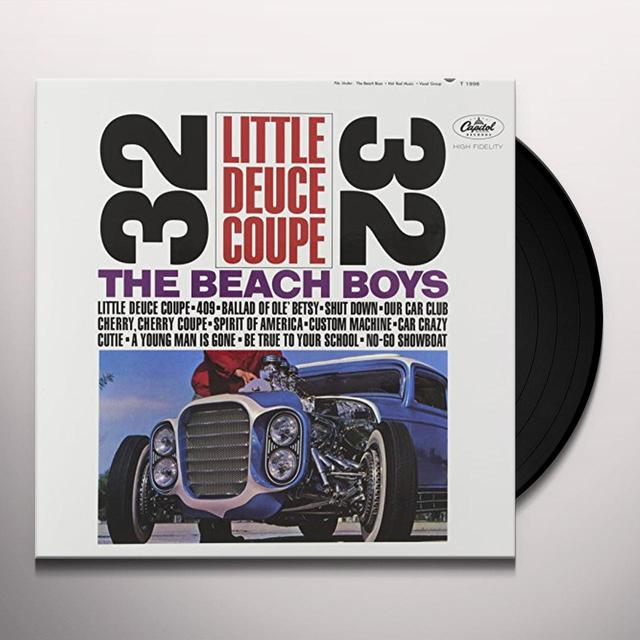The Beach Boys LITTLE DEUCE COUPE Vinyl Record - 200 Gram Edition, Mono