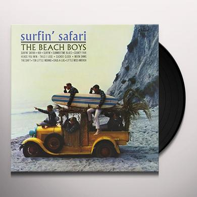 The Beach Boys SURFIN' SAFARI Vinyl Record - 200 Gram Edition, Mono