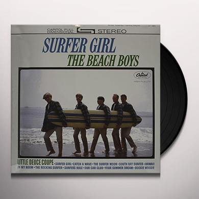 The Beach Boys SURFER GIRL Vinyl Record - 200 Gram Edition