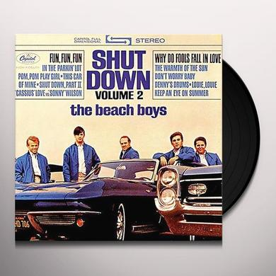 The Beach Boys SHUT DOWN 2 Vinyl Record - 200 Gram Edition