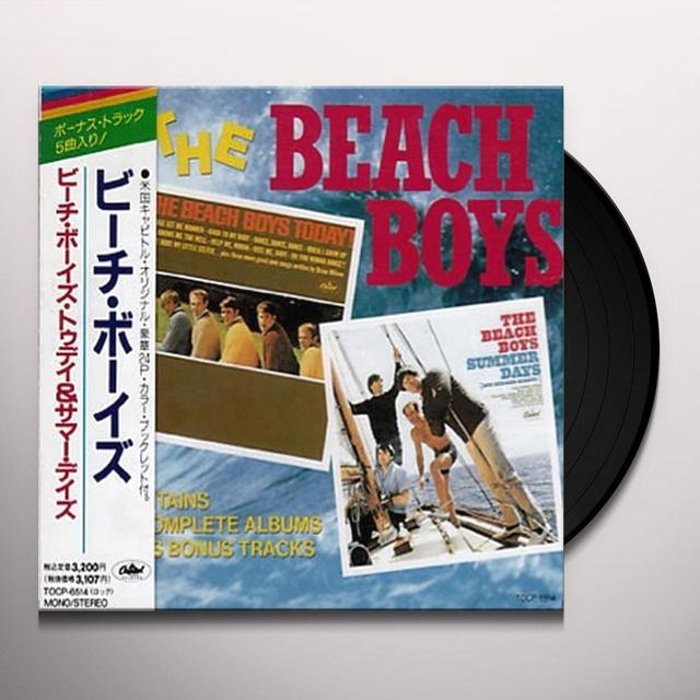 The Beach Boys SUMMER DAYS (AND SUMMER NIGHTS) Vinyl Record - 200 Gram Edition