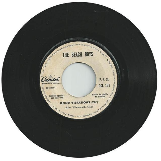 The Beach Boys TODAY Vinyl Record - 200 Gram Edition