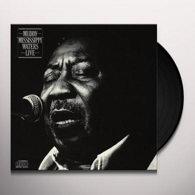 Muddy Waters MUDDY 'MISSISSIPPI' WATERS-LIVE Vinyl Record