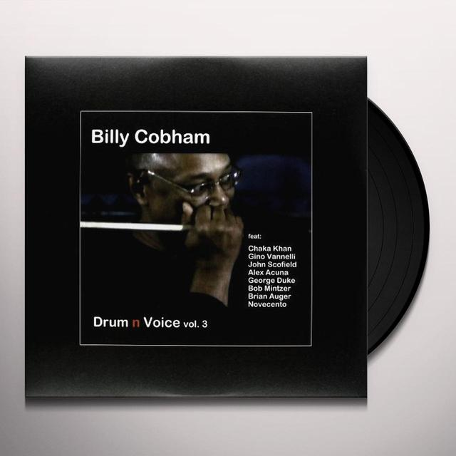 Billy Cobham DRUM 'N' VOICE VOL. 3 Vinyl Record - UK Release