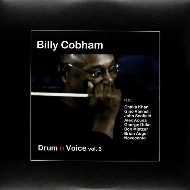 Billy Cobham DRUM 'N' VOICE VOL. 3 Vinyl Record - UK Release