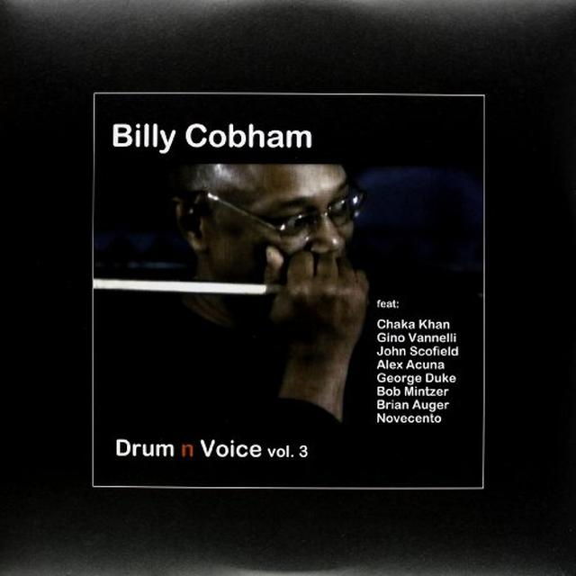 Billy Cobham DRUM 'N' VOICE VOL. 3 Vinyl Record - UK Import