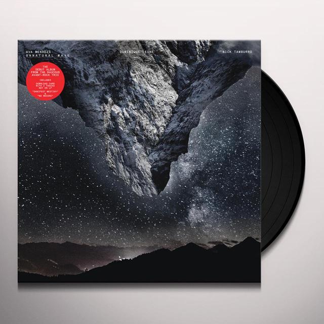 Ava Mendoza UNNATURAL WAYS Vinyl Record